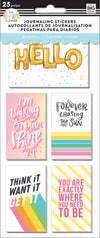 Journaling (Flip) Stickers - Quotes