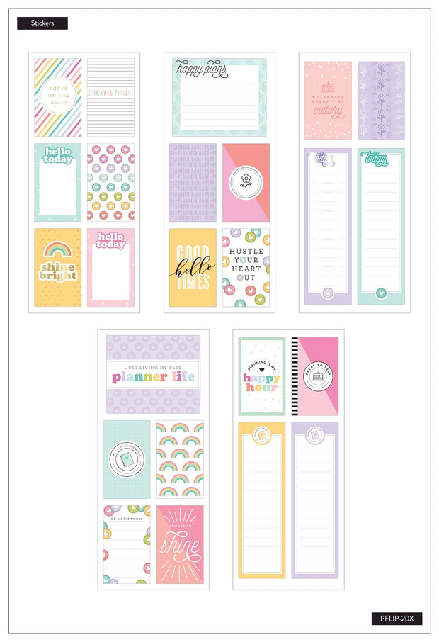 Journaling (Flip) Stickers - Planner Babe