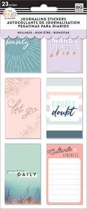 Journaling (Flip) Stickers - Wellness