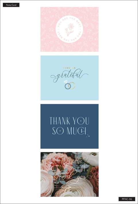 Wedding Party Thank You Cards