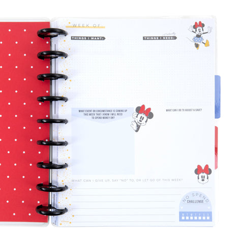Minnie Mouse Budget Classic Guided Journal