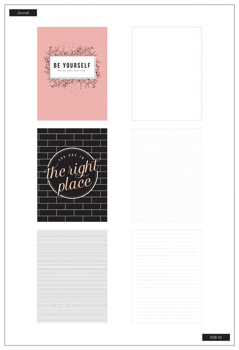 3 Pack Journals - Modern Farmhouse