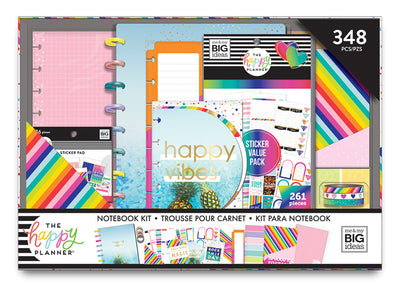 Classic Happy Notes Box Kit - Happy Rainbow