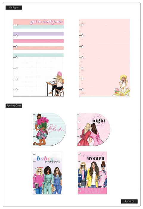Mini Planner Companion - Rongrong