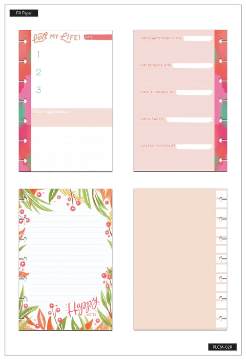 Mini Planner Companion - Happy Life