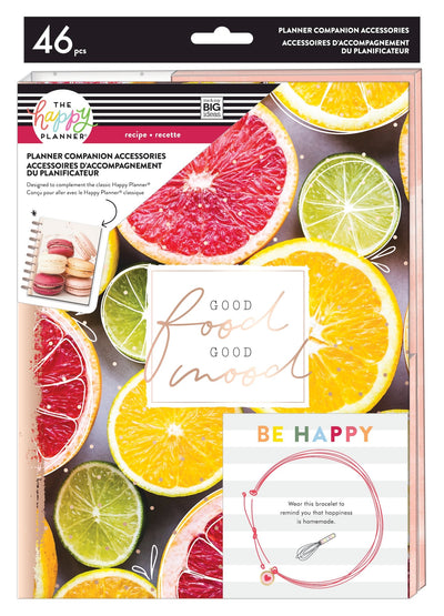 Recipe + Meal Prep Planner Companion - Classic