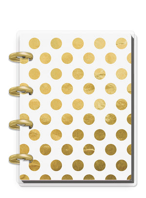 Christmas Planner Keepsake - Gold Dots