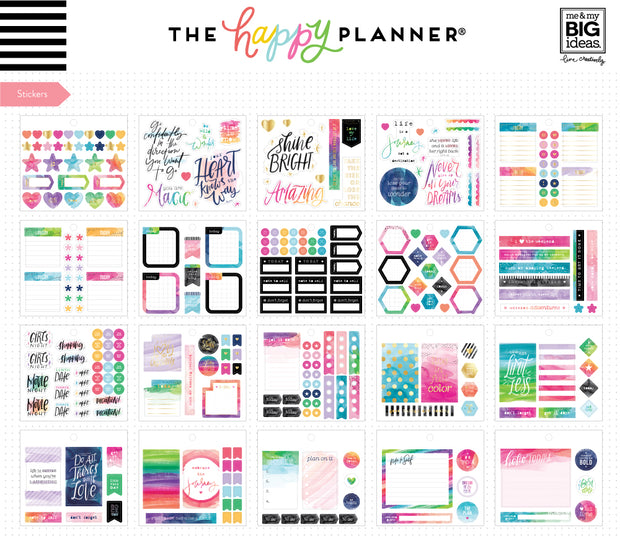 Multi Accessory Pack - Watercolor