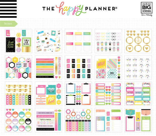 Multi Accessory Pack - Planner Girl