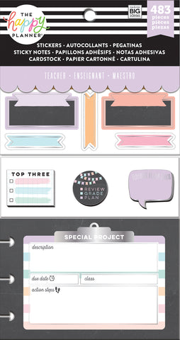 Multi Accessory Pack - Teacher - Chalkboard