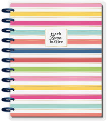 2018 - 2019 BIG Happy Planner® - Simple Brights - Teacher