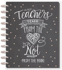 DELUXE 2018 - 2019 BIG Happy Planner® - From the Heart - Teacher