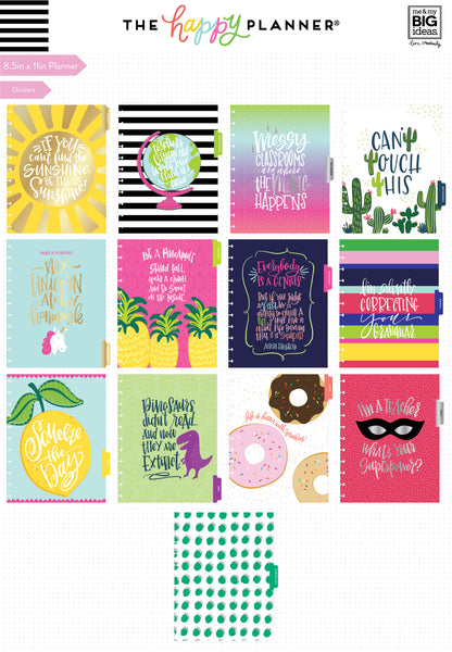 DELUXE 2018 - 2019 BIG Happy Planner® - Here's to - Teacher