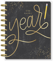 BIG Teacher Planner - One Happy Year - 12 Months (2019-2020)