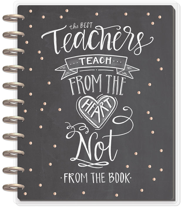 BIG Teacher Planner - Teacher From the Heart - 12 Months (2019-2020)