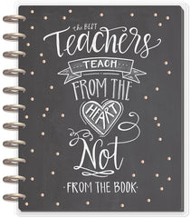 BIG Teacher Planner - Teach From The Heart - 12 Months (2019-2020)