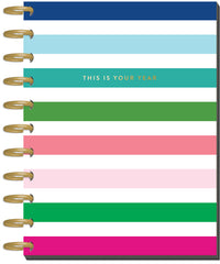12 Months- UNDATED - BIG Happy Planner® - Modern Brights