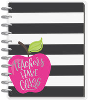 BIG Teacher Planner - Teachers Have Class - 12 Months (2019-2020)