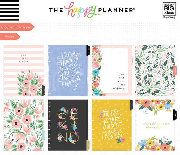2019 BIG Happy Planner® - Bright Blooms - 12 Months (2019-2020)
