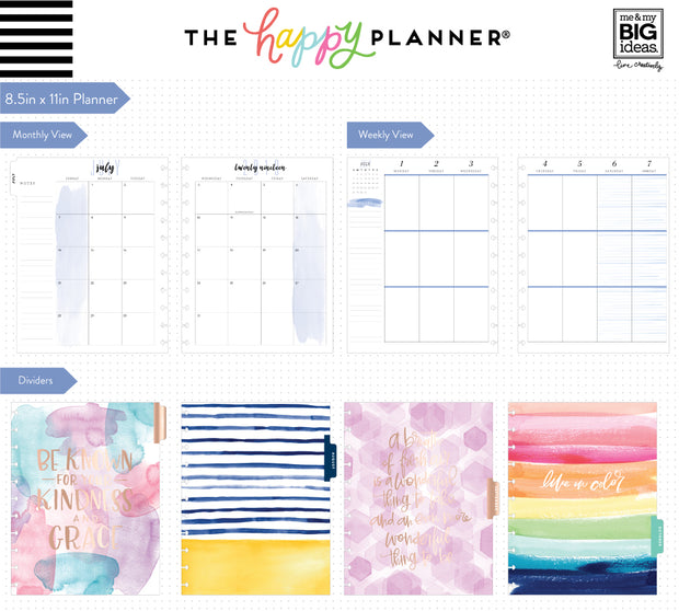 2019 BIG Happy Planner® - Life is Beautiful - 12 Months (2019-2020)