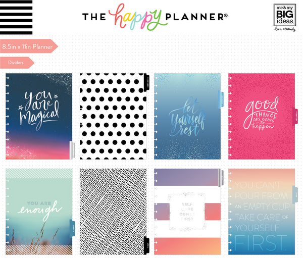 2018 - 2019 BIG Happy Planner® - Self Care
