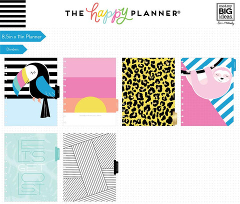 BIG Happy Planner® - Pastel Tropics - 18 Months (2019-2020)