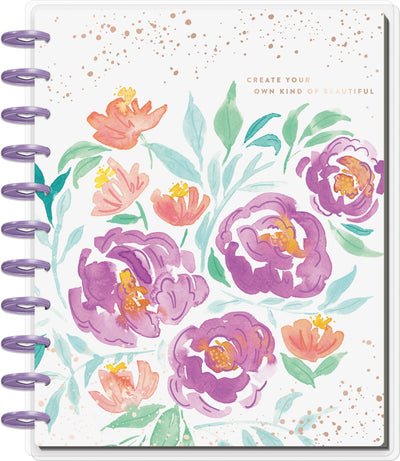 BIG Dashboard Happy Planner® -  Detailed Florals - 18 Months