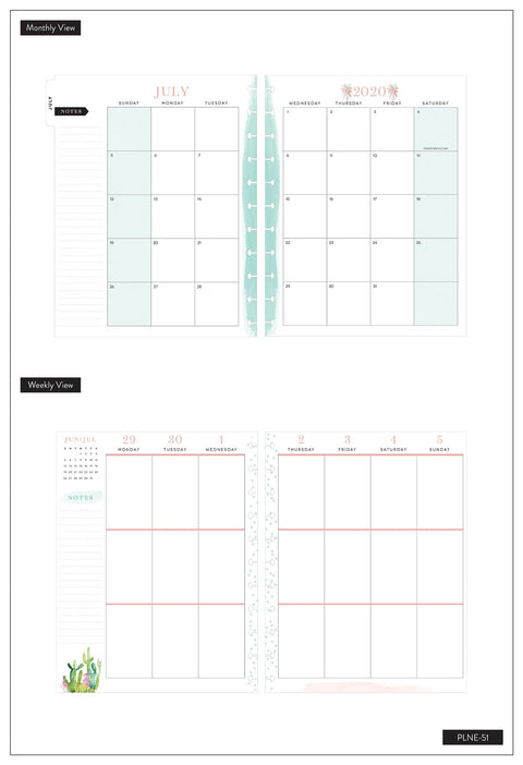 BIG Vertical Happy Planner® - RongRong Slay Today - 18 Months