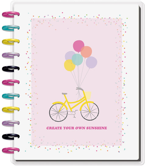 BIG Lined Vertical Happy Planner® - Create Your Own Sunshine - 18 Months