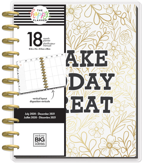BIG Vertical Happy Planner® - Make Today Great - 18 Months