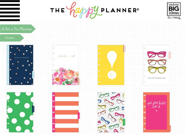 2019 Mini Happy Planner® - Bright Side (horizontal)