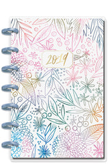2019 Mini Happy Planner® - Watercolor Floral (horizontal)