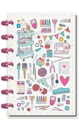 2019 Deluxe Mini 12 Month Planner - Miss Maker (checklist layout)