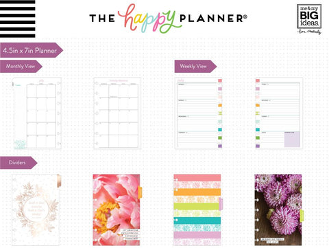 Mini Happy Planner® - Grow Your Own Way (Faith) - 12 Months (2019-2020)
