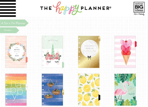 Mini Happy Planner® - Happy Illustrations - 12 Months (2019-2020)