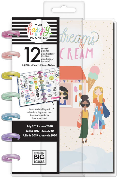 Mini Happy Planner® - Squad Life - 12 Months (2019-2020)