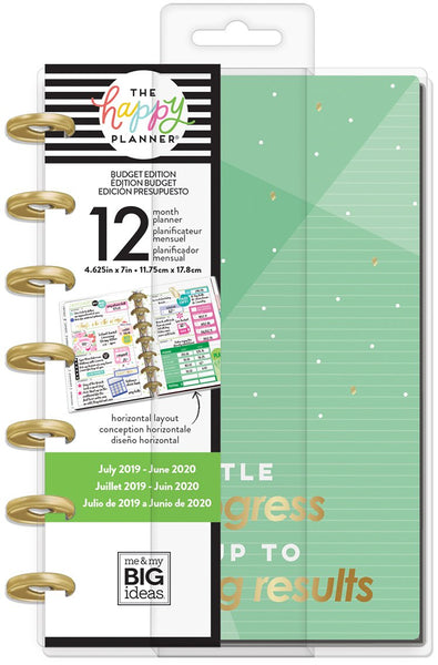 Mini Happy Planner® - Budget - 12 Months (2019-2020)
