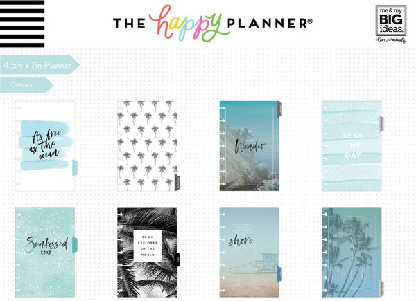 Mini Happy Planner® - Coastal Vibes - 12 Months (2019-2020)