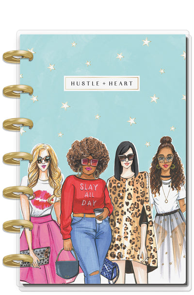 Mini Happy Planner® x Rongrong - Hustle & Heart - 12 Month (2019-2020)