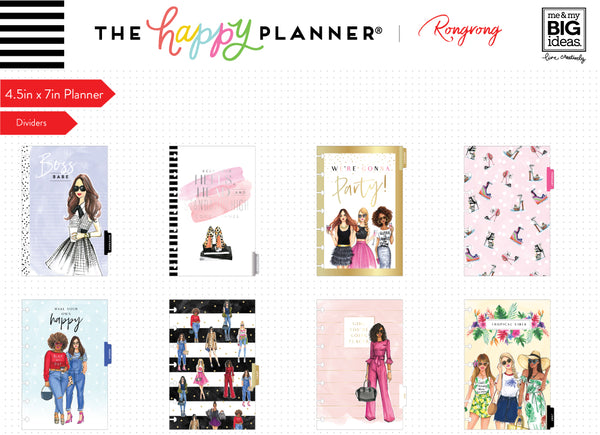 Mini Happy Planner® x Rongrong - Brave & Beautiful - 12 Month (2019-2020)