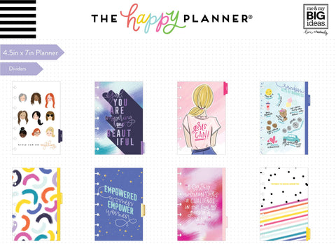 2020 Deluxe Mini Happy Planner® - Encourager - 12 Months