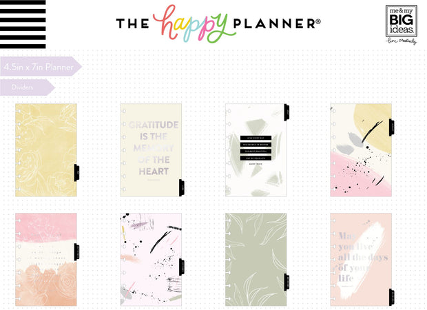 2020 Mini Happy Planner® - Painterly - 12 Months