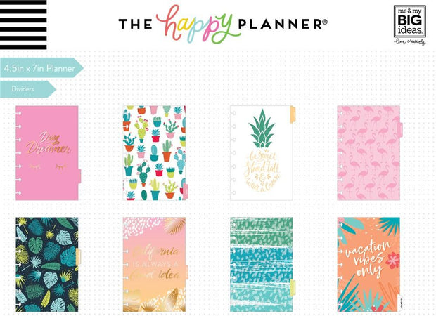 2020 Mini Happy Planner® - Vacation Vibes - 12 Months