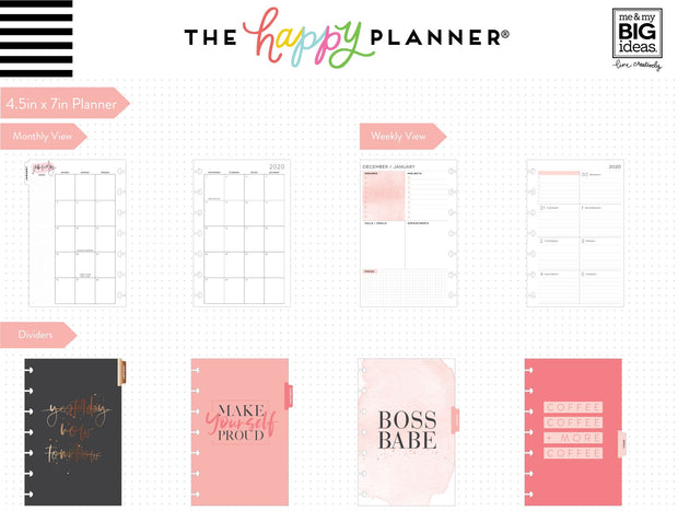 2020 Mini Happy Planner® - Biz Babe - 12 Months