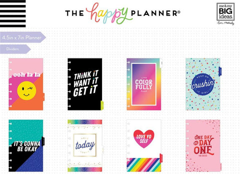 2020 Mini Happy Planner® - Live In Color - 12 Months