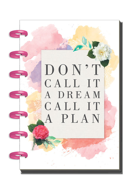 12 Months – UNDATED - MINI Happy Planner® - Wildflower
