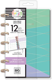 12 Months - UNDATED - Mini Happy Planner® - Wellness