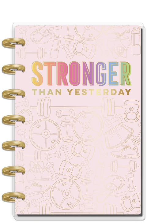 12 Months - UNDATED - Mini Happy Planner® - Fitness