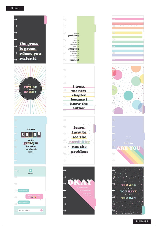 12 Months - UNDATED - Mini Happy Planner® - Budget