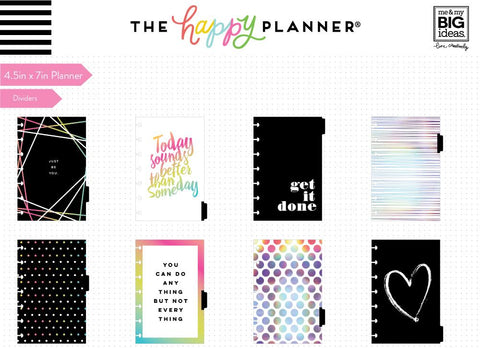 12 Months – UNDATED - MINI Happy Planner® - Stay Positive